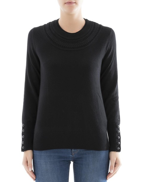 Burberry sweatshirt black sweater