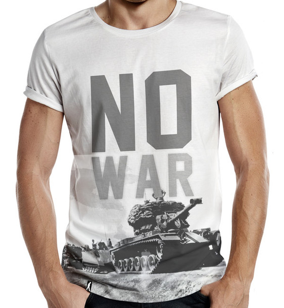t-shirt no war no more war world peace peace t-shirt t-shirt camouflage gun all over print printed t-shirt