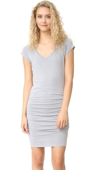 dress v neck dress v neck grey