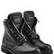 Balmain - leather zip front combat boots