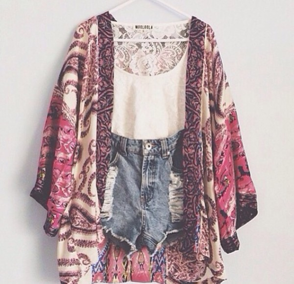 shorts blouse coat cardigan