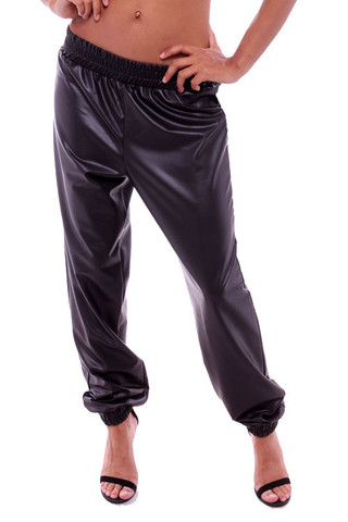 Faux Leather Joggers (faux leather, leather joggers, track pants) | Bottoms | Jaydes Boutique