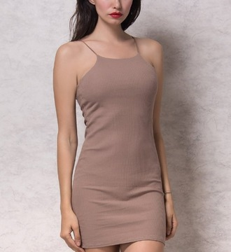 dress girl girly wishlist bodycon girly nude