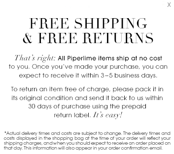 Women's Shoes, Designer Clothes, Handbags, Jewelry | Free Shipping and Returns | Piperlime