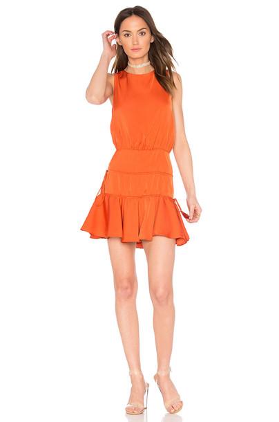 Finders Keepers dress mini dress mini orange
