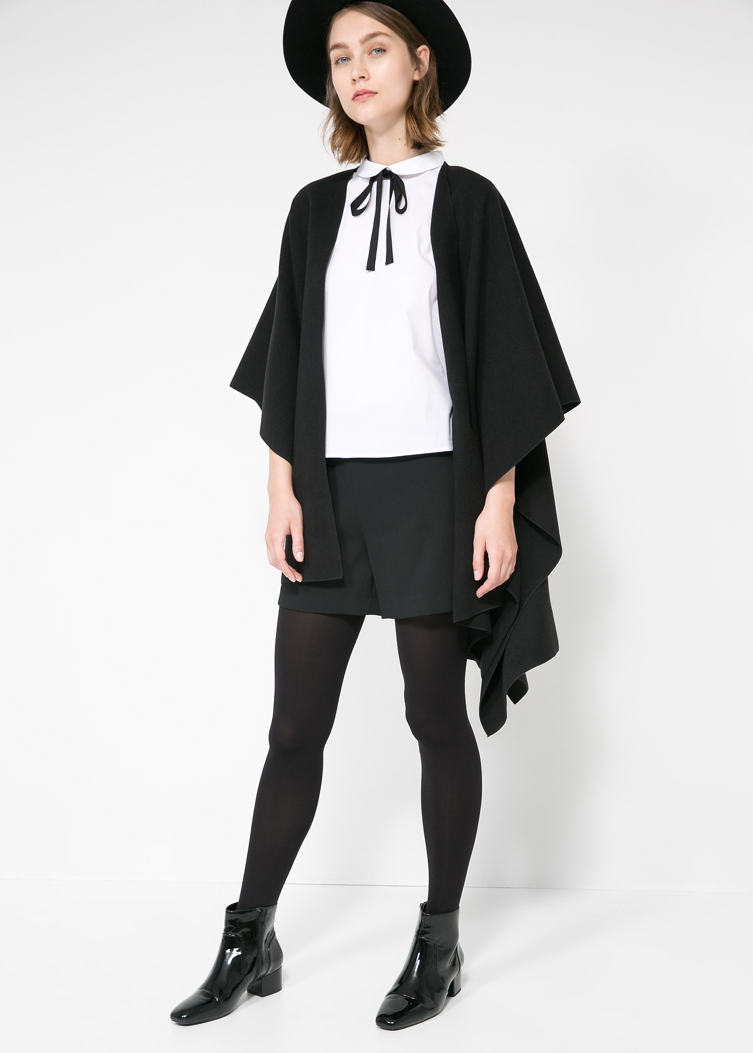 Bow neck shirt - Women | MANGO