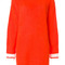 Msgm - sweater dress - women - acrylic/polyamide/mohair - xs, yellow/orange, acrylic/polyamide/mohair