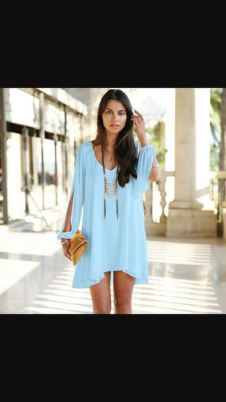 dress bleu summer outfits