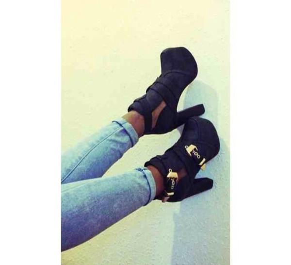 shoes platform high heels