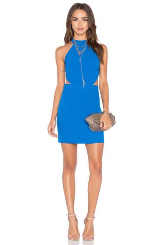 dress bodycon bodycon dress blue