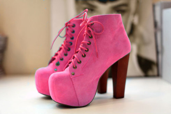 shoes pink high heels pink shoes love pink pink heels jeffrey campbell jeffrey campbell lita