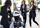 top,kim kardashian,shoes,coat,pants,leggings