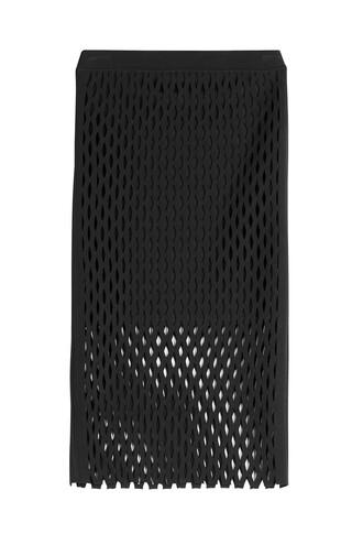 skirt mesh skirt mesh black