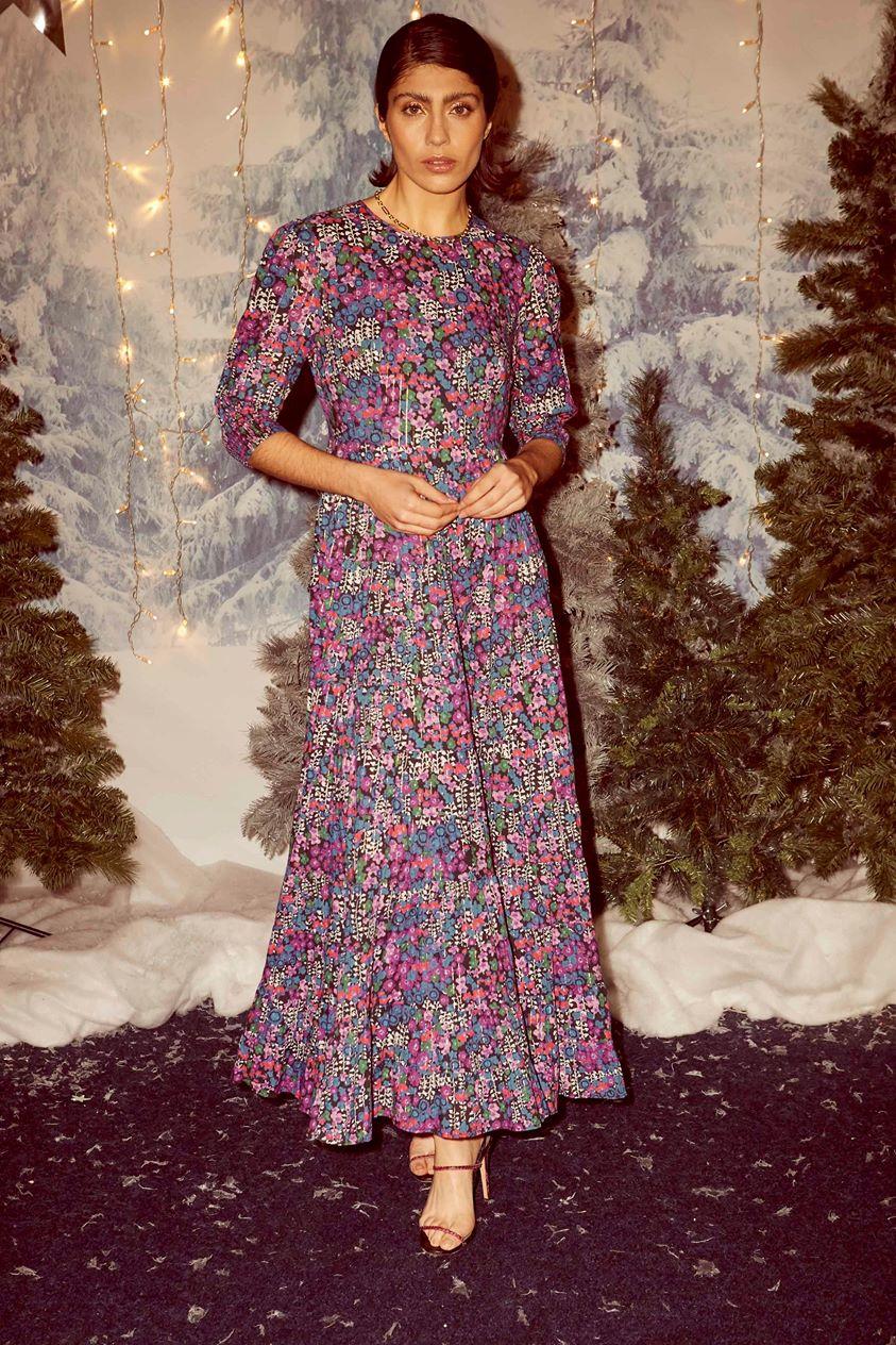 Kristen - Klimt Meadow Pink Purple