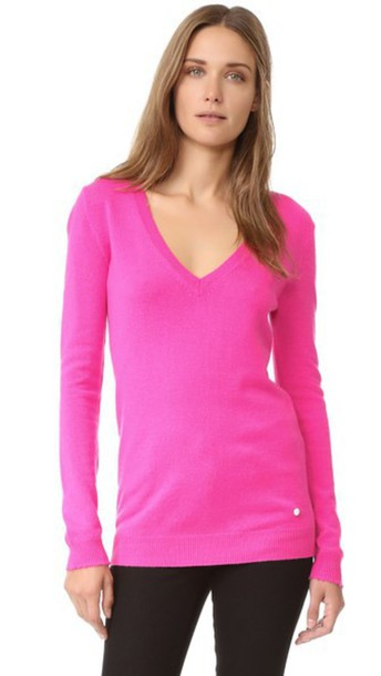 NINA RICCI sweater v neck