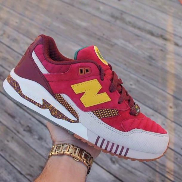 shoes rouge new balance