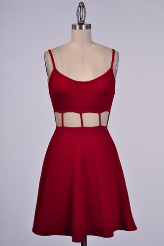 Moscato Evenings  Red Dress - JuJu's Closet