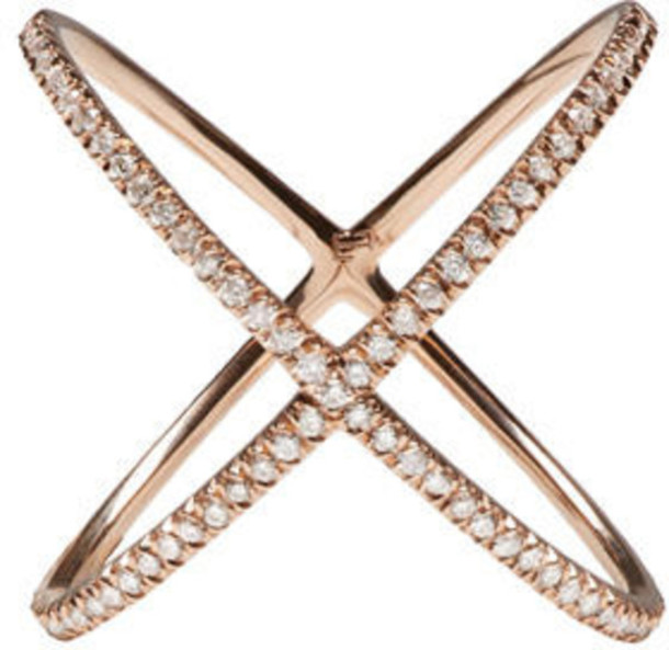Eva Fehren rose gold rose ring gold jewels