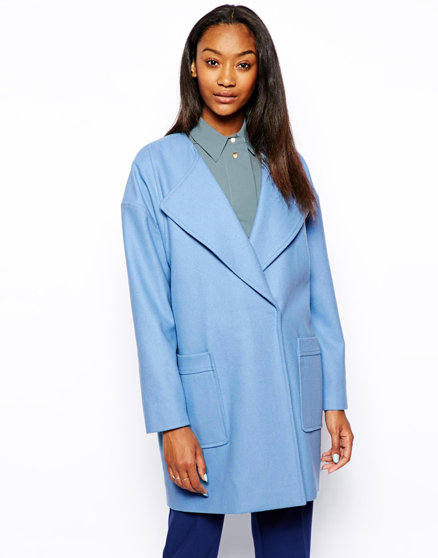 Asos boyfriend coat at asos.com