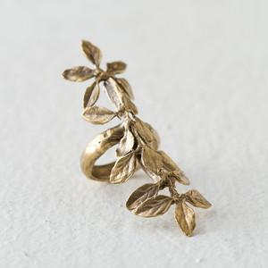 Long leaf ring