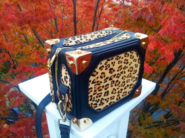 bag leopard print clutch box clutch handbag aliexpress