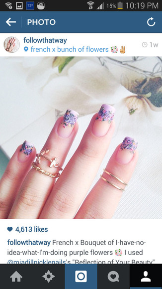 scarf nails nails art ring