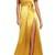 Shop Jill Jill Stuart Faux Wrap Satin Gown at Modalist   M0021000303595