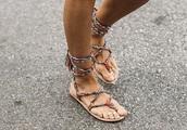 shoes,multicolor,braided,sandals,lace-up shoes