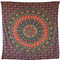 Indian mandala tapestry with elephant print - handicrunch.com
