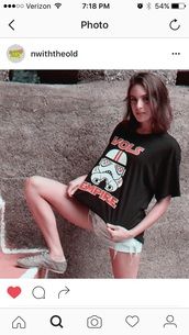 shirt,t-shirt,black t-shirt,tennessee volunteer,orange,black,black shirt,white,white shirt,all black shirt,star wars,darth vader,Stormtrooper Star Wars,•stormtrooper