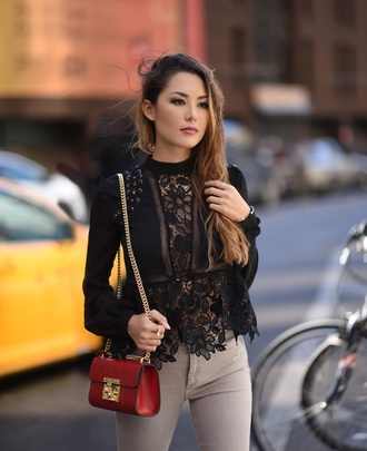 jessica r. hapa time - a california fashion blog by jessica blogger top bag shoes
