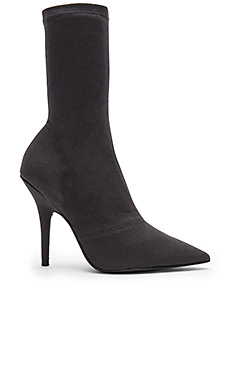 5e6349fc YEEZY Season 6 Ankle Boot in Graphite from Revolve.com