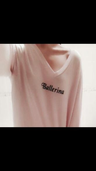 shirt ballerina