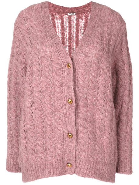 cardigan cable knit cardigan cardigan women wool purple knit pink sweater