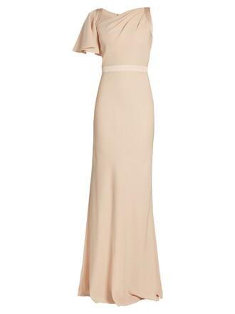 gown light pink light pink dress