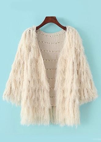 coat faux fur jacket faux fur jacket