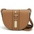 Rivets Motorcycle Saddle Crossbody Bag in Brown [FPB752] - PersunMall.com