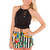 Just Love Pom Pom Shorts - Black