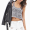 Normal is boring crop top   forever 21 canada