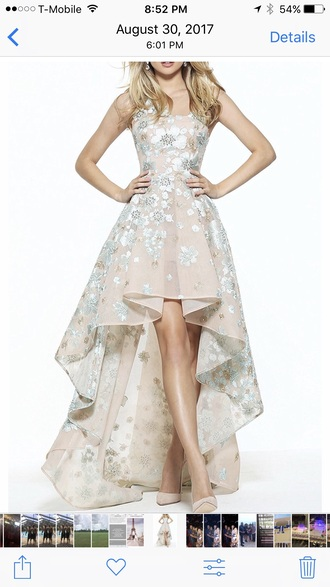 dress floral prom