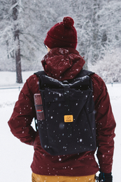 bag,winter outfits,backpack,rucksack,rolltop,rolltop backpack,sac a dos,mens accessories,accessories,travel,travel bag,lifestyle