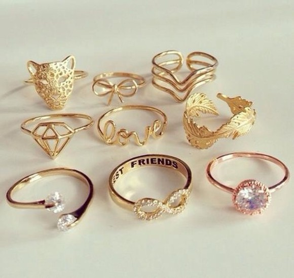 jewels ring gold rings justin bieber diamonds hipster fashion