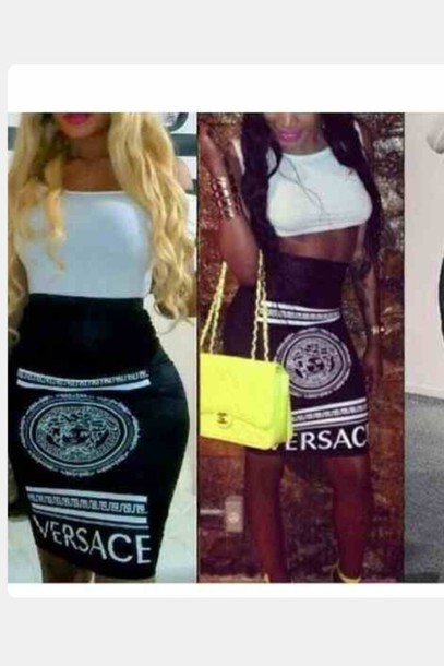 skirt vasace versace style