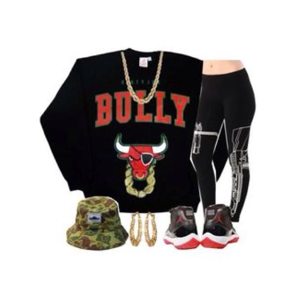sweater leggings jewels hat