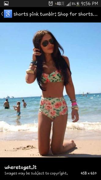 floral swimwear bikini floral swimwear