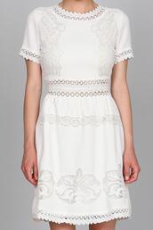 dress,boho dress,embroidered,embroidered dress,embroiderry dress,white,white dress,hippy dress,summer dress,summer,hipster wedding
