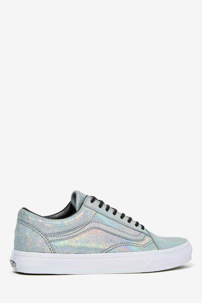 5fa95e5bb72e Vans Old Skool Leather Sneaker - Irridescent