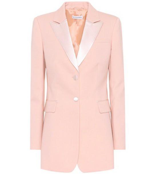 Altuzarra blazer wool pink jacket