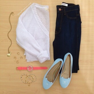 shoes light blue cats flats loafers sweater smoking slippers