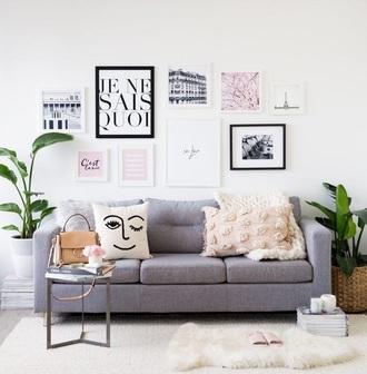 home accessory home decor sofas sofa gallery wall home furniture living room